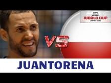 Osmany Juantorena in match Italy - Poland