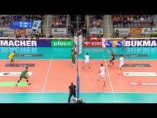 Jastrzębski Węgiel - AZS Częstochowa (Highlights)