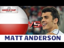 Matthew Anderson in match USA - Poland