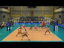 Volley Asse-Lennik - Resovia Rzeszów (Highlights)