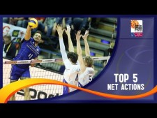 Best net actions (The Olympics Qualifications 2016)