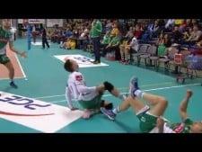 AZS Olsztyn amazing defence (Skra - Olsztyn)