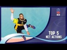 Best net actions: Champions League (5th week)
