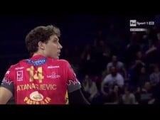 Aleksandar Atanasijević 2nd meter spike (Macerata - Perugia)