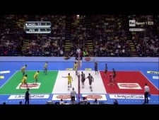 Bruno Rezende & Earvin N'Gapeth great action