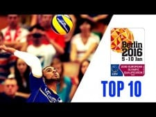 TOP10 Spikes by N'Gapeth in The Olympics Qualifications 2016