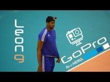 Wilfredo Leon training with Go Pro