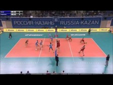 Alexey Spiridonov 3rd meter spike (Kazan - Orenburg)
