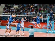Compositions of volleyball team