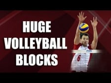 Huge Volleyball Blocks
