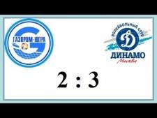 Gazprom-Yugra Surgut - Dynamo Moscow (Highlights)