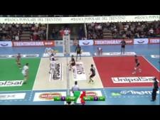 Radostin Stoychev back heel save (Trentino - Molfetta)