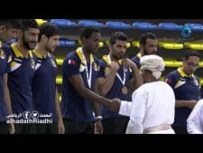 Honoring the Bahraini Al-Ahli club that finished third