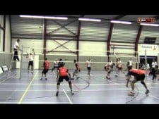 Me playing Volleyball: Olhaco H1 - VC Sneek H1
