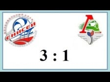 Enisey Krasnoyarsk - Lokomotiv Novosibirsk (Highlights)
