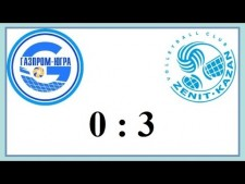 Gazprom Surgut - Zenit Kazan (Highlights)