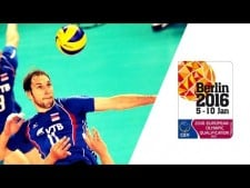 Andrey Aschev in match Russia - France