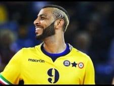 Earvin N'Gapeth spike (Modena Volley - Trentino Volley)