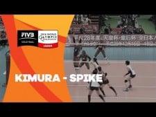 Saori Kimura fantastic spike (Dominican Republic - Japan)