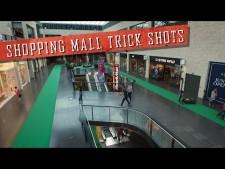 Shopping Mall Trick Shots!