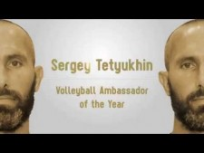 European Volleyball Gala 2016: Awards - Sergey Tetyukhin