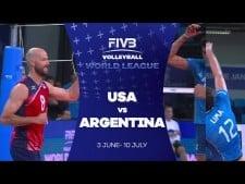 Argentina - USA (Highlights)