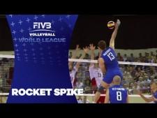 Dmitriy Muserskiy huge spike (Russia - Poland)