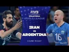 Iran - Argentina (Highlights)