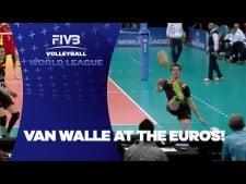 Gert Van Walle great leg dig