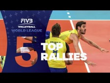 Long rally actions (World League 2016, 1st week)