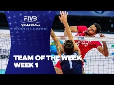 Best players of World League 2016 (1st week)