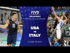 USA - Italy (Highlights)