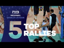 Long rally actions (World League 2016, 2nd week)