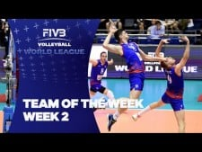 Best players of World League 2016 (2nd week)