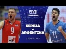 Serbia - Argentina (Highlights)