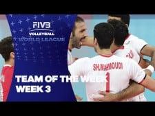 Best players of World League 2016 (3rd week)