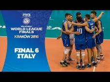 Italy Road to World League 2016 Final Six