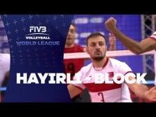 Ozkan Hayirli huge block (Canada - Turkey)