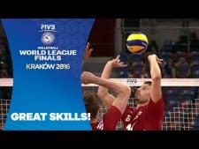 Fabian Drzyzga great action (Poland - Serbia)