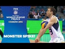Dražen Luburić huge spike (Serbia - Italy)
