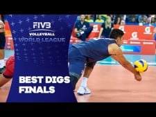 Best digs in World League 2016 Final Six (Highlights)
