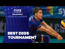 Volleyball Digs in World League 2016
