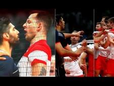 Volleyball quarrel (Poland - Iran)