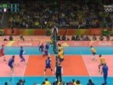Earvin N'Gapeth great attack (Brazil - France)