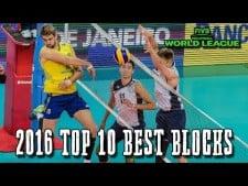 TOP10 Best Block in World League 2016
