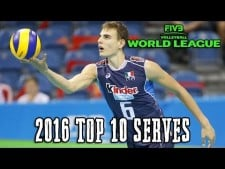 TOP10 Best Serves in World League 2016