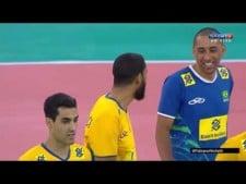 Wallace de Souza 3rd meter spike  (Brazil - Portugal)