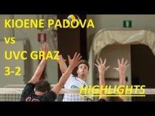Kioene Padova - UVC Graz (Highlights)
