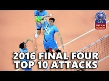 TOP10 Spikes in Champions League 2015/2016 Final Four