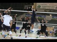 Simone Giannelli show in match Trentino - Piacenza